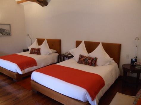 Belmond Rio Sagrado - my room
