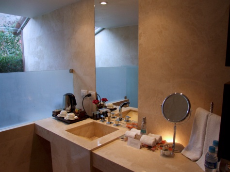 Belmond Rio Sagrado - bathroom