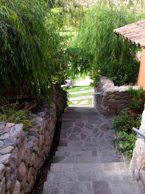 Belmond Rio Sagrado - stairs