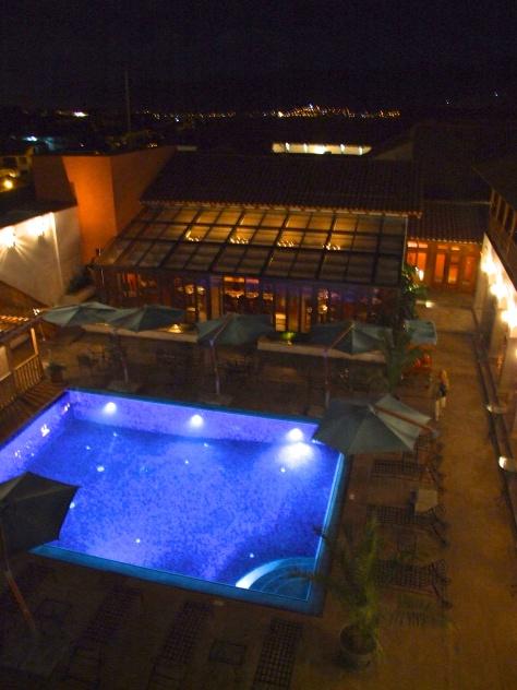 Belmond Palacio Nazarenas -view from suite