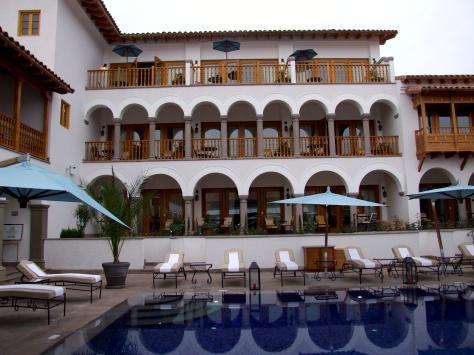Belmond Palacio Nazarenas- pool