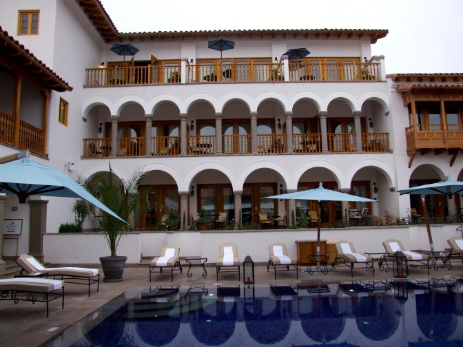 Belmond Palacio Nazarenas – Cusco, Peru  – 5 star – Perfect retreat…