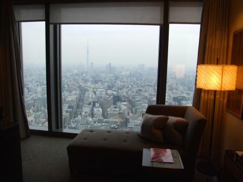 Mandarin Oriental Tokyo -room
