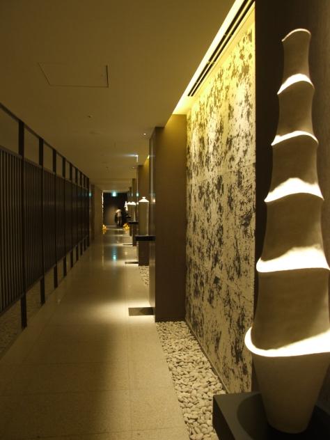 Ritz Carlton Kyoto -Spa corridor