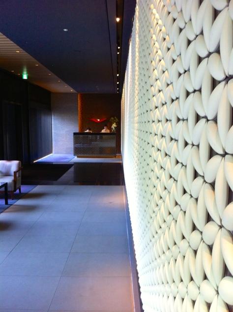 Ritz Carlton Kyoto- entrance with concierge desk