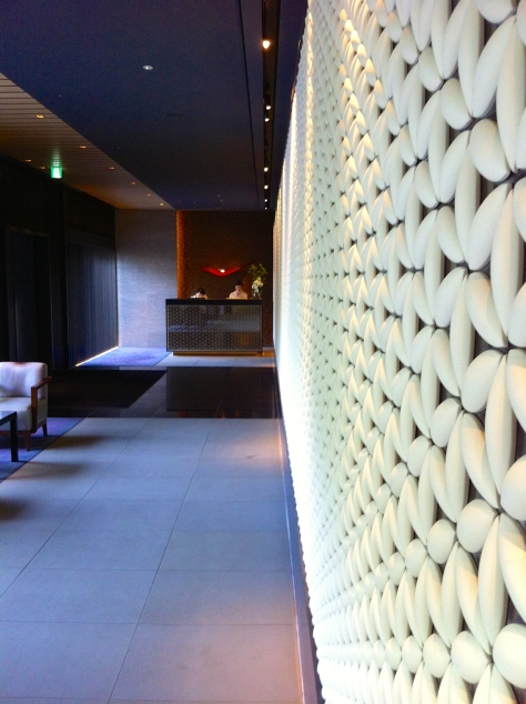 Ritz Carlton Kyoto- entrance with concierge desk