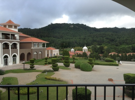 Penha Longa - View form the room