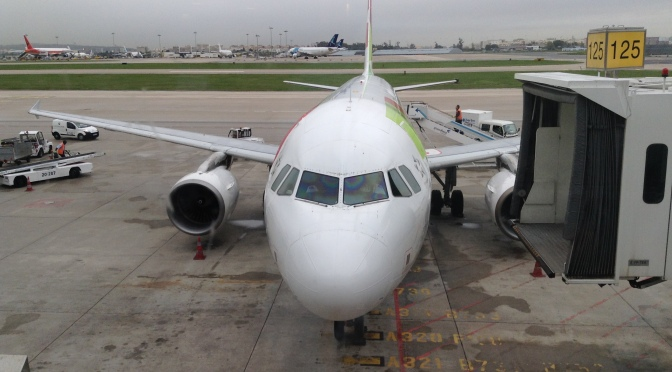 TAP – Business Class – Airbus 320 – Not really there…