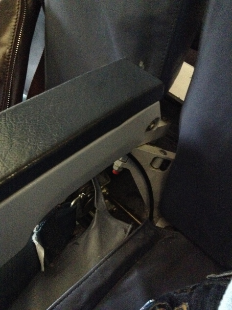 TAP A320 - business class