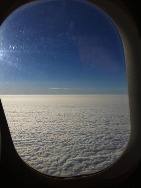Brisitsh Airways A320-200 - Club Europe´s view seat 1A