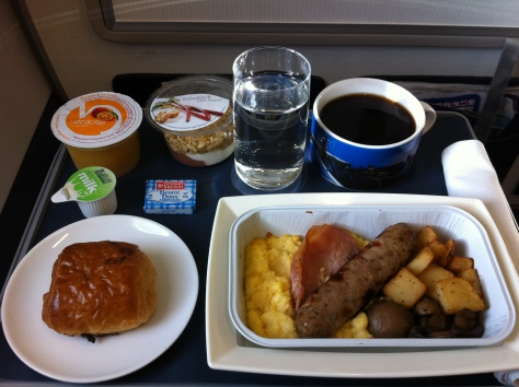Brisitsh Airways A320-200 - Club Europe´s-Breakfast