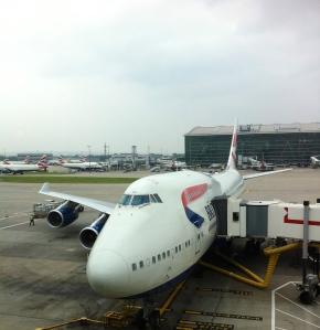 British Airways B747-400 Heathrow