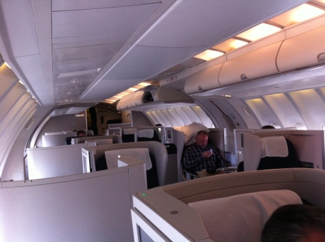 British Airways B747-400 Upper deck