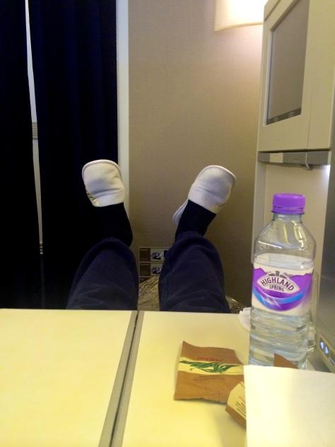 B777. Leg room