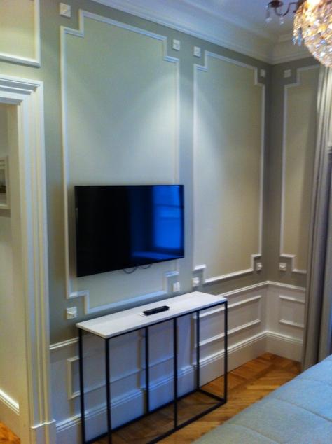 Grand Hotel Stockholm - Tv in bedroom