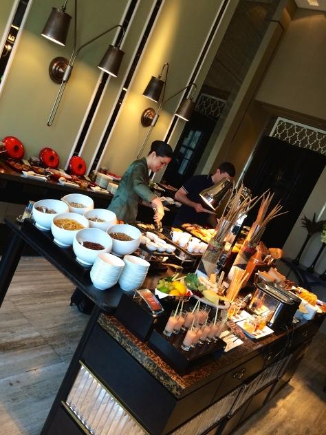 Shangri La Tokyo- Breakfast