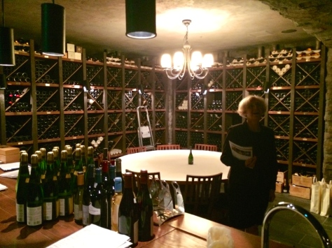 Mandarin Oriental Tokyo - wine cellar