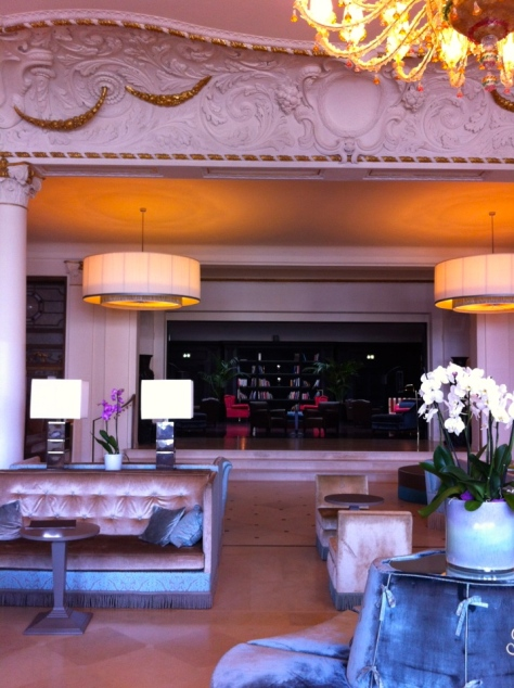 StarHotel Savoia Excelsior Palace- lobby