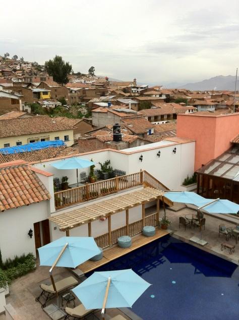 Belmond Palacio Nazarenas - View