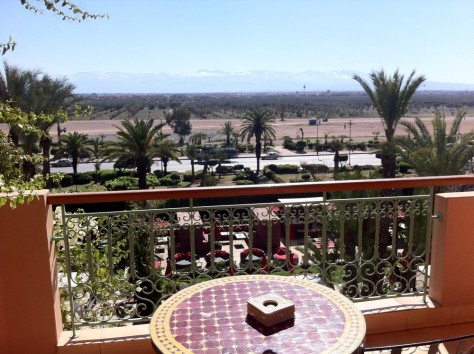 Sofitel Marrakech- view from room