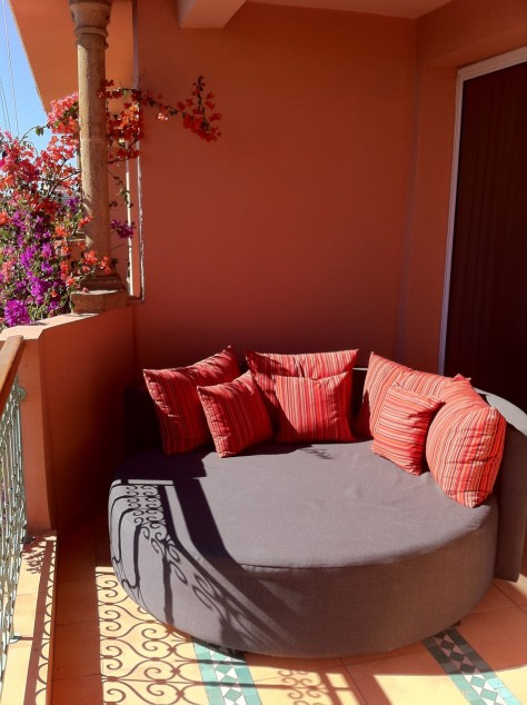Sofitel Marrakech- Balcony