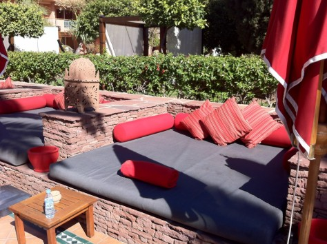 Sofitel Marrakech- Poolbed