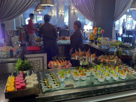 Sofitel Marrakech- Breakfast