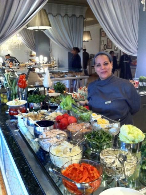 Sofitel Marrakech- Breakfast