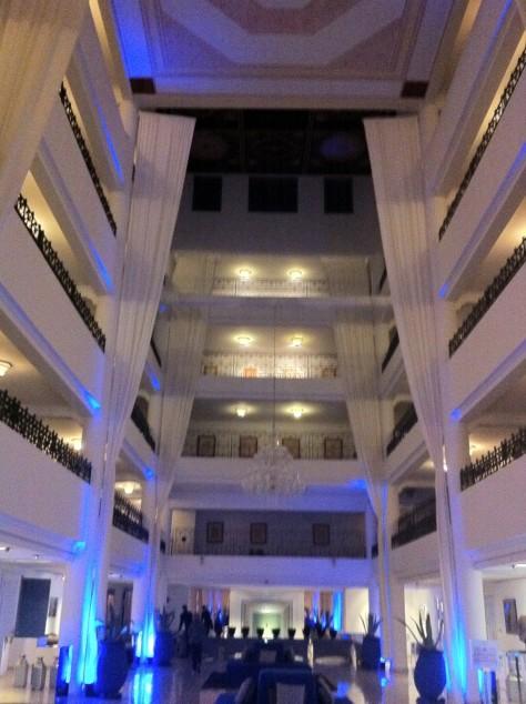 Sofitel Marrakech- Lobby of Lounge Hotel