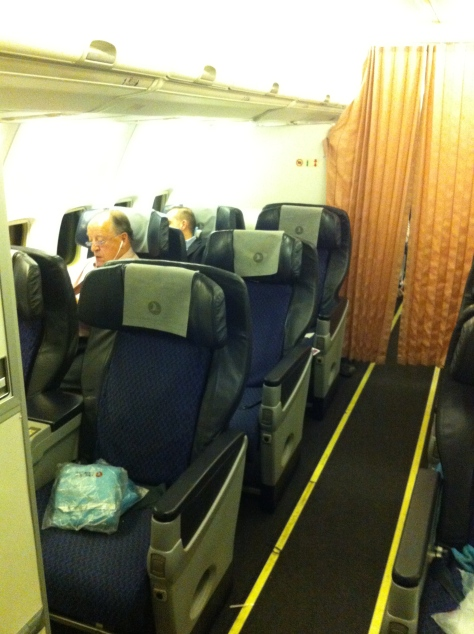 Turkish airlines A321- Business class
