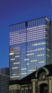 Shangri-La Tokyo - View of the buiding