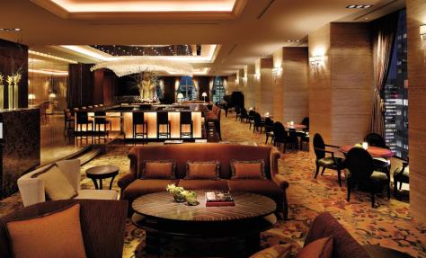 Shangri La Tokyo - Lobby bar