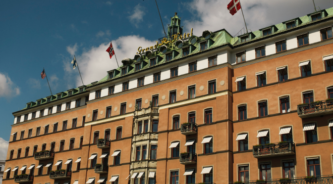 Grand Hotel – Stockholm, Sweden – 5 star – Classy style…