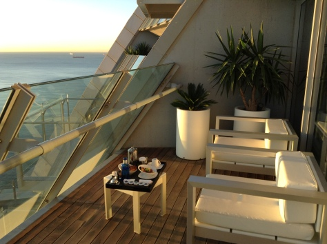W Barcelona - Balcony Spectacular corner suite