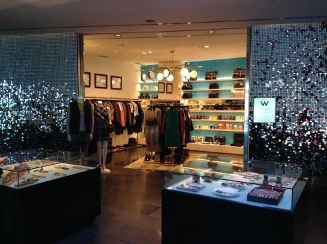W Barcelona - shop