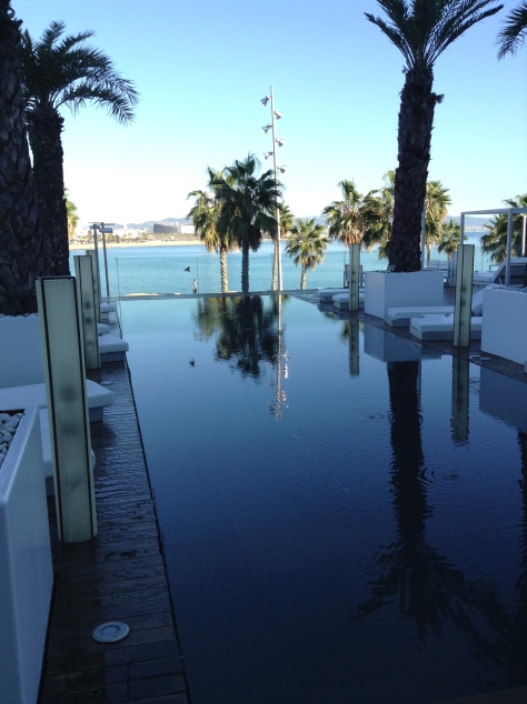 W Barcelona - outdoor pool