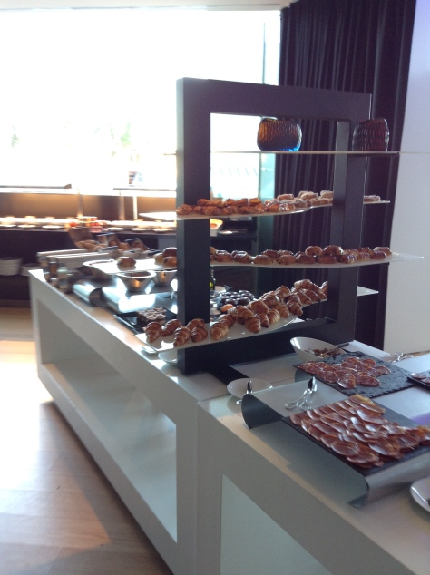 W Barcelona - breakfast