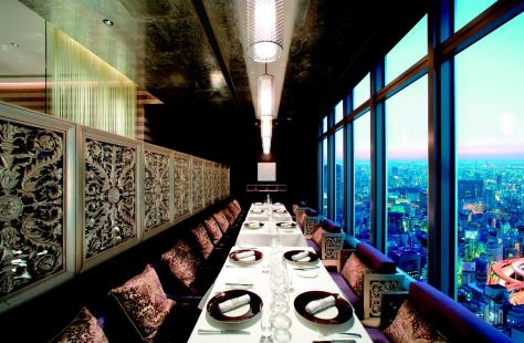 Mandarin Oriental Tokyo -dinner