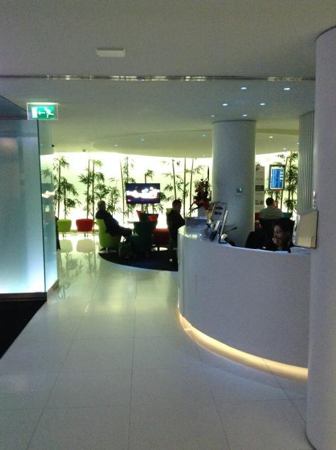 Lisbon Tap business lounge