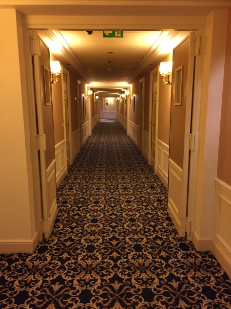 Intercontinental Carlton Cannes - corridor
