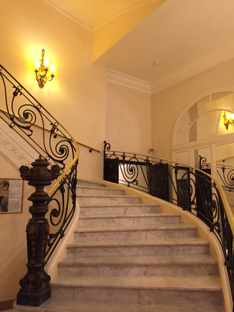 Intercontinental Carlton Cannes - famous staircase