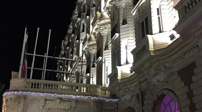 Intercontinental Carlton Cannes - Facade