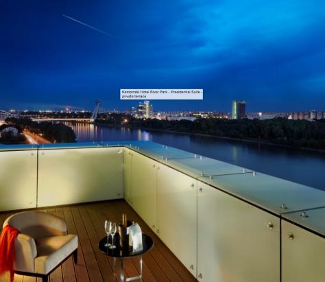 Kempinski River Park - View form suite