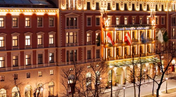 Kempinski Palais Hansen – Vienna – 5 stars – Elegance in a nut shell