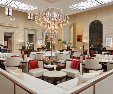 Kempinski Palais Hansen- lobby