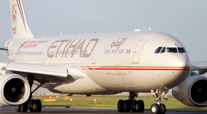 Etihad Airways- Business Class – Airbus 330 – Not for demanding passengers…