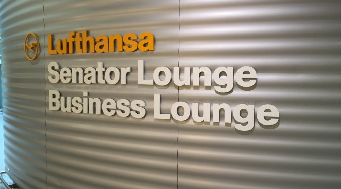 Business Lounge – Munich – Lufthansa…quite a difference..