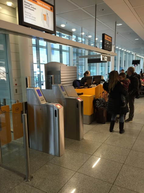 Lufthansa A321 - 200 Business Class check in