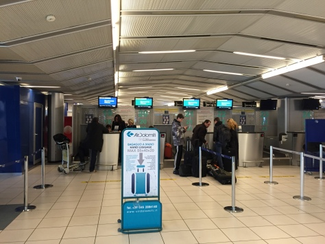 Air Dolomiti - check in
