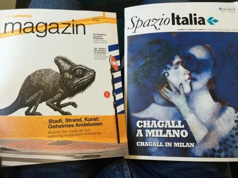 Air Dolomiti - Bussines class magazines
